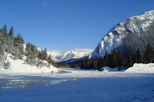 Bow River, Banff