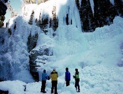 Banff Ice Walk