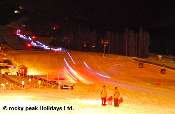 Lake Louise Torchlight Descent