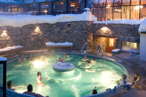 Sunshine Mountain Lodge Pool, Banff