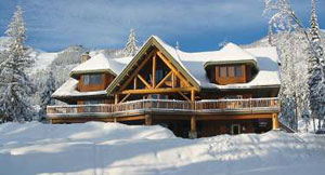 Kicking Horse Ski Accommodation